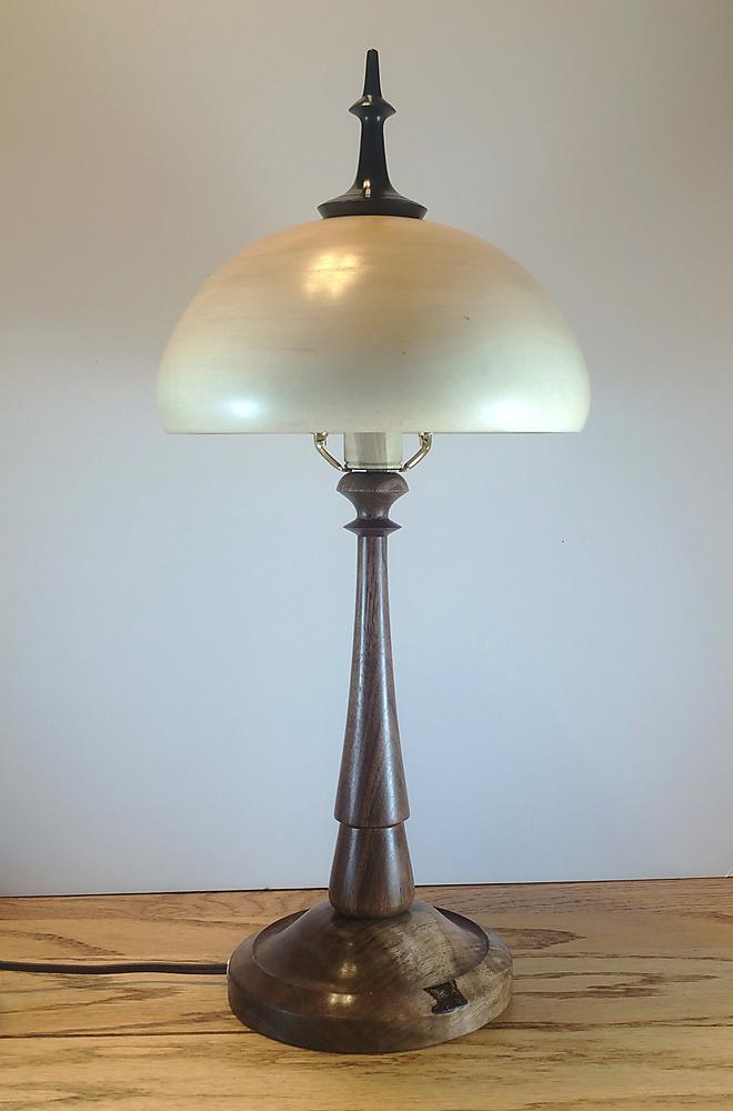 Silver Maple Lamp