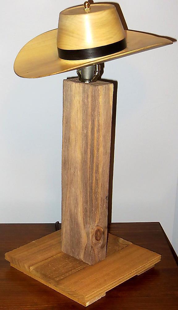 Cowboy Hat Lamp