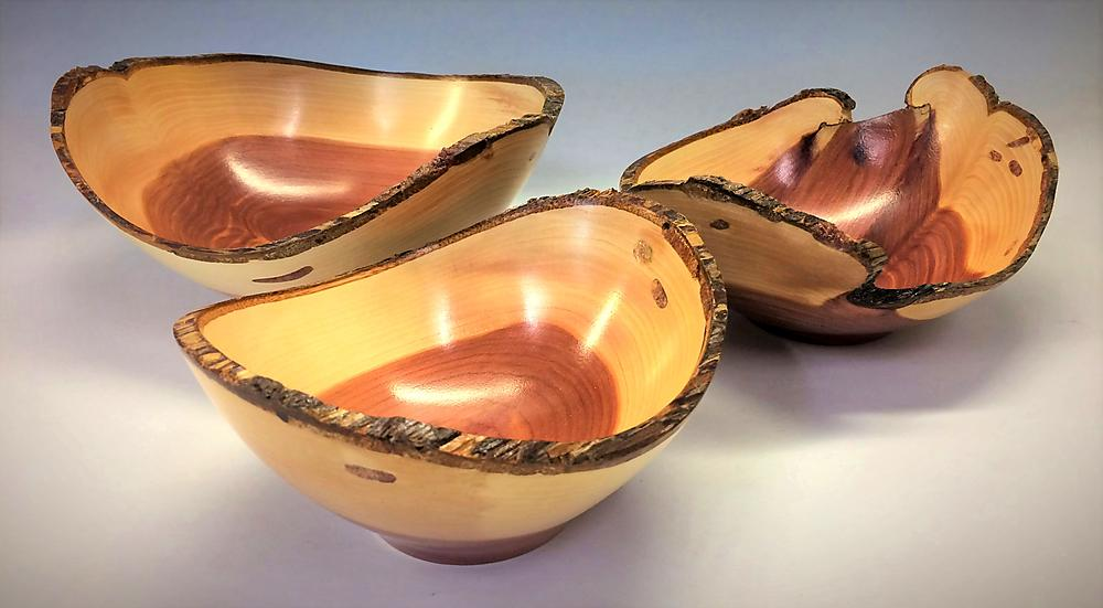 Eastern Red Cedar Bowls