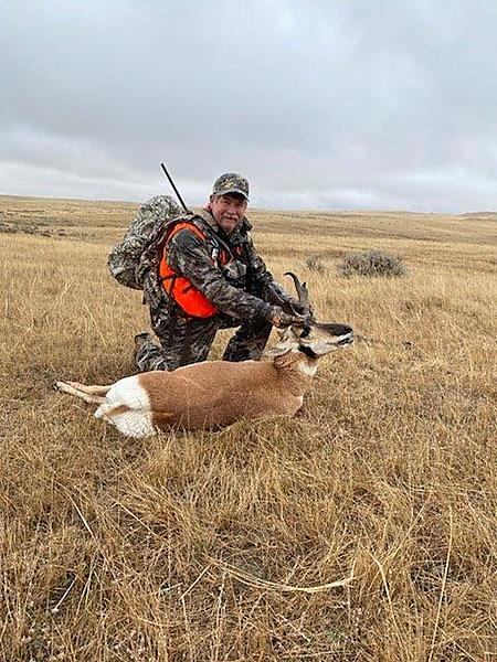 Kendal Bortisser antelope hunt