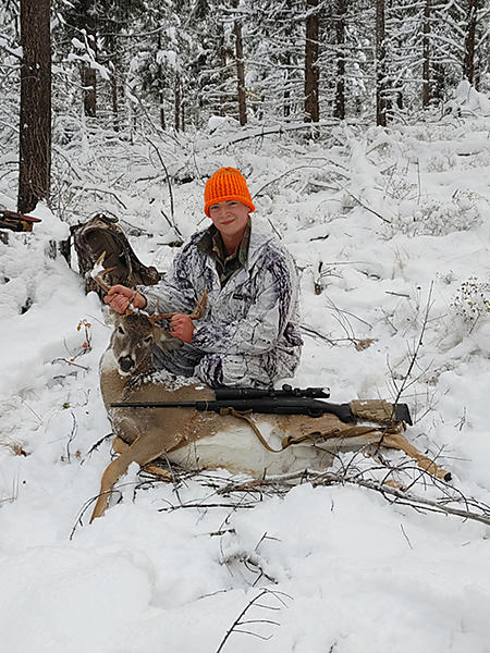 Tyler first Whitetail