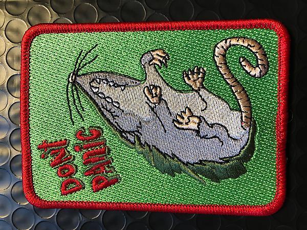 Don8217t Panic Possum