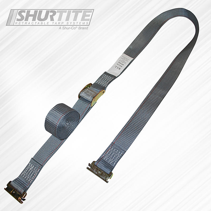 "2"" x 16' Cambuckle Strap with E-Track Fittings"