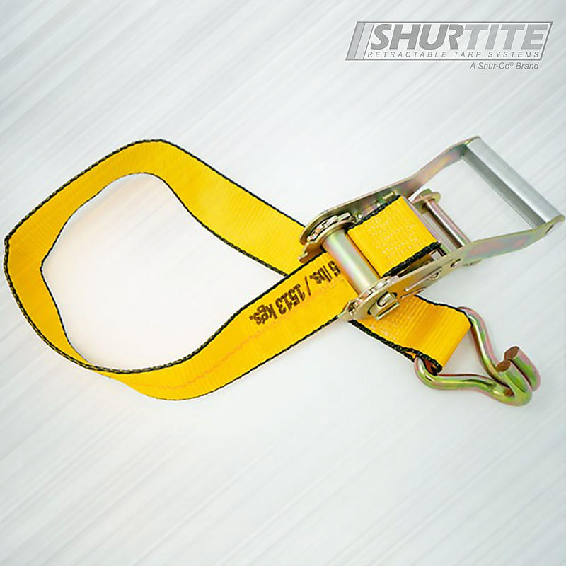 Ratchet with Cargo Strap Wire Hook