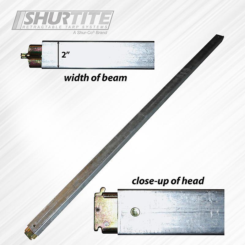 "E-Track Steel Load Bar 93"" - 103"""