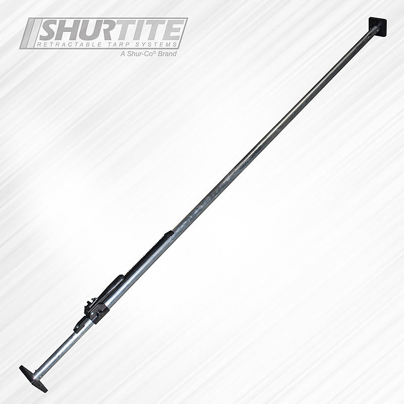 Steel Cargo Load Lock Bar 4x4 Bolt on Feet