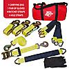 "2"" Auto Ratchet Strap and Axle Strap Set"