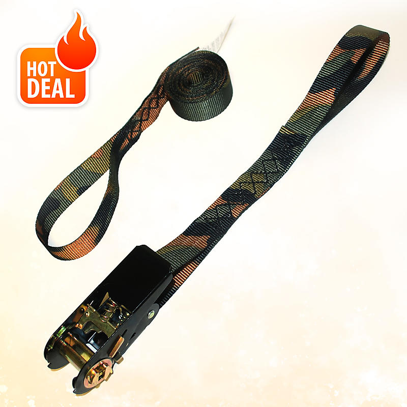 CAMO Ratchet Strap