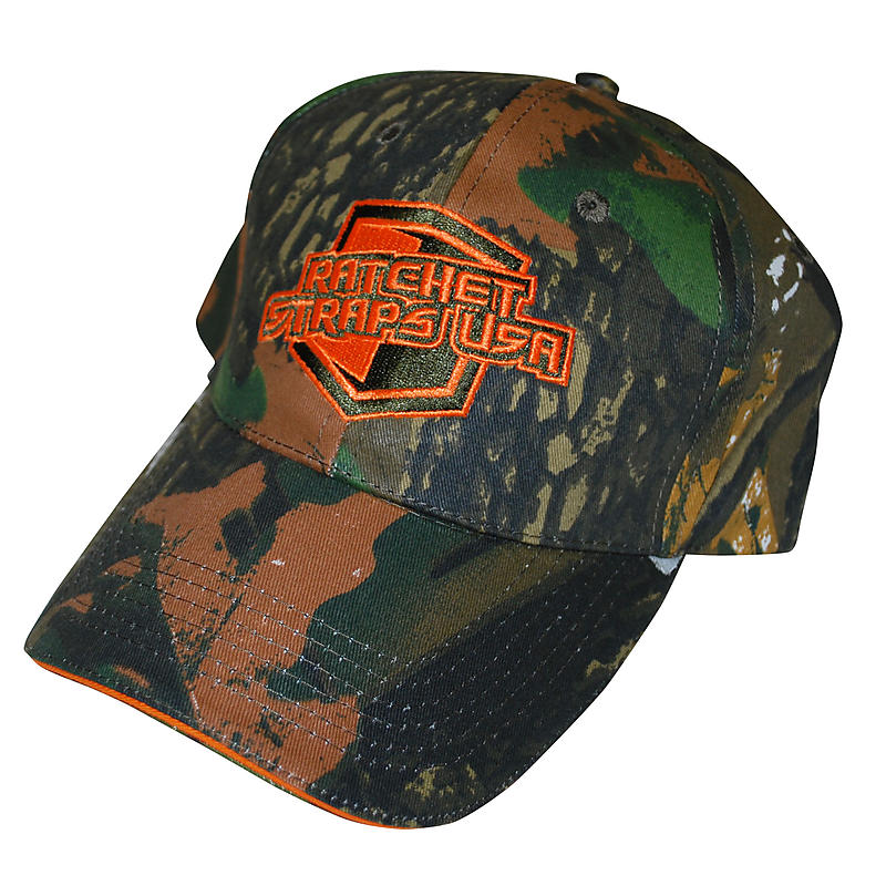 Ratchet Straps USA Camo Hat | RatchetStrapsUSA