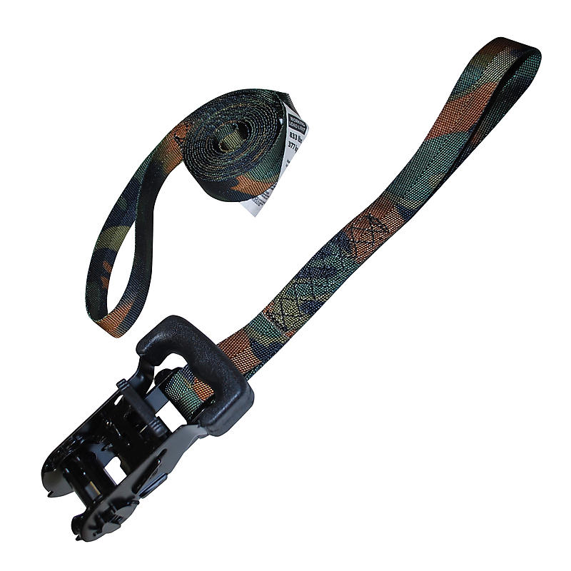 """1"""" CAMO Ratchet Strap with 5"""" Loops"""