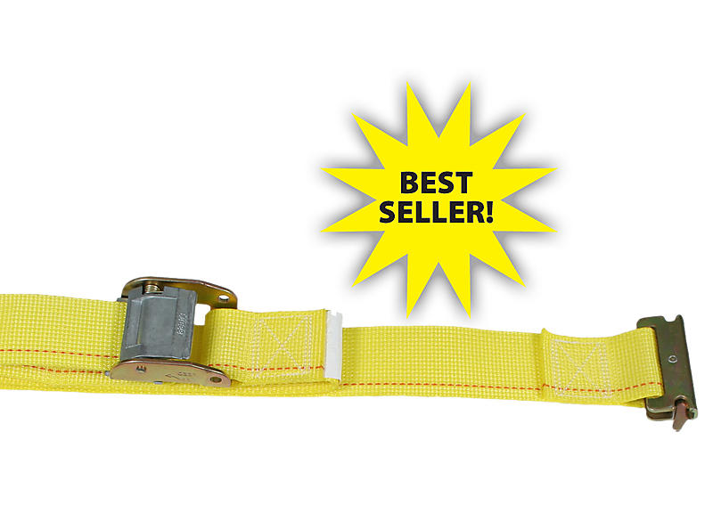 "2"" x 12' Cam Buckle Strap w/ E Track Fittings 
