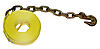 "2"" Winch Strap w/ Chain & Hook"