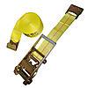 "3"" x 27' Ratchet Strap w/ Flat Hooks"
