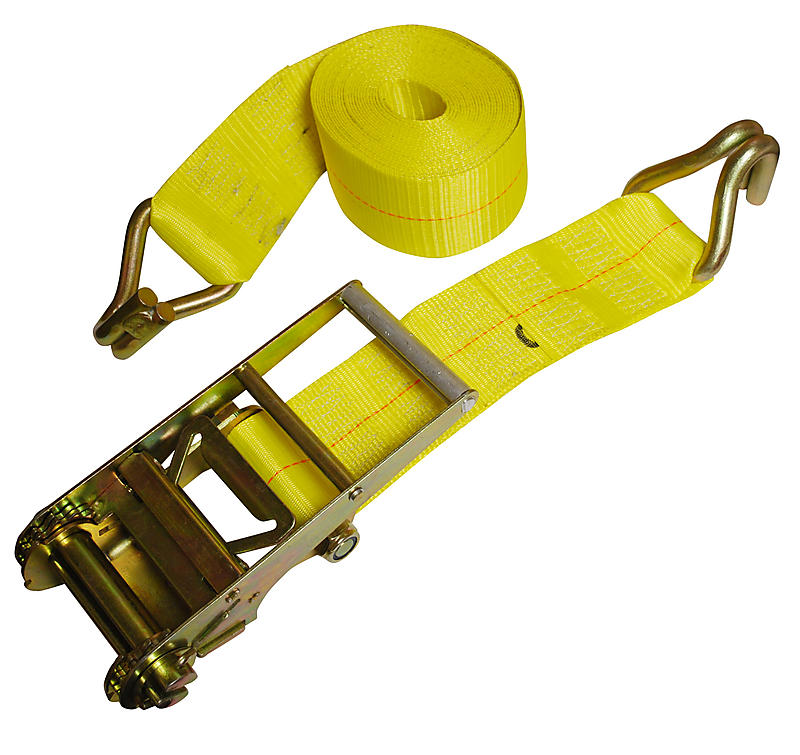 "4"" x 30' Ratchet Strap with Wire Hook 