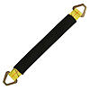 2 inch Axle Strap with Flat D Rings Yellow