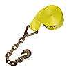 "3"" x 27' Winch Strap w/ Chain & Hook"