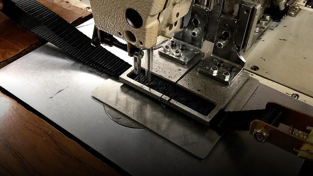 Stitching Weave on Ratchet Strap Large  RatchetStrapsUSA
