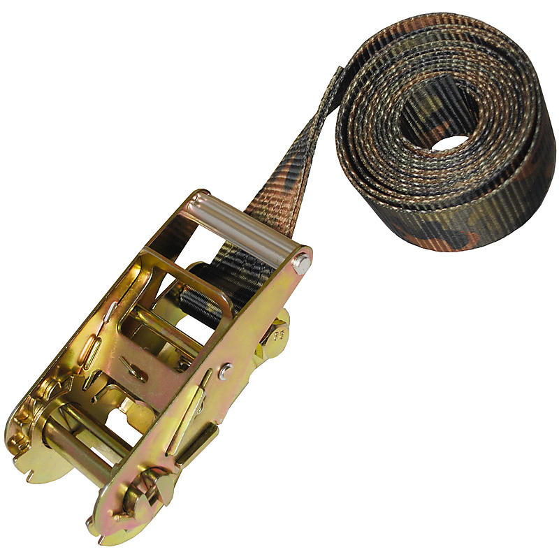 "2"" Heavy Duty Camo Endless Ratchet Strap"