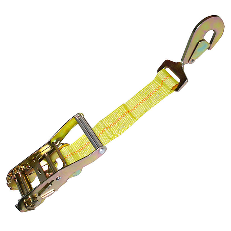 "2"" Ratchet Strap Short End w/Snap Hook"