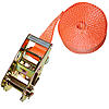 "2"" Heavy Duty Endless Loop Ratchet Strap Orange"