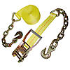 2 inch Ratchet Strap with Chain & Hook | RatchetStrapsUSA