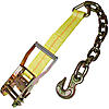 "2"" Ratchet Strap Short End w/Chain & Hook"