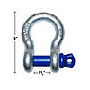 "3/4"" - 4.75 ton Screw Pin Shackle"