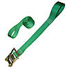 "2"" Ratchet Strap with Loops Green"