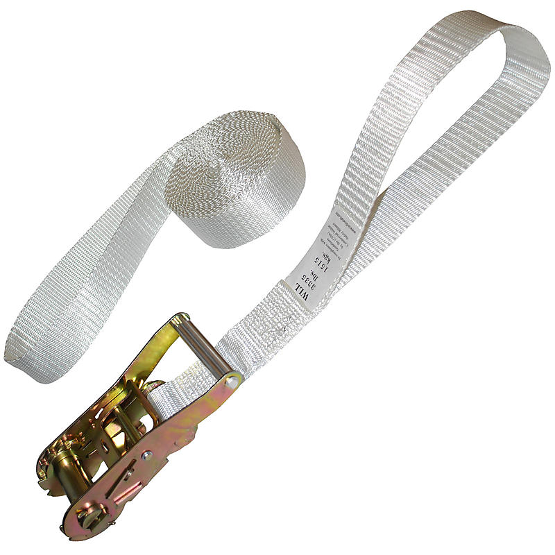 2 Quot X 15 Tent Strap With 8 Quot Loops Ratchetstraps Com