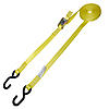 "1"" Yellow Heavy Duty Cambuckle Strap w/ S Hooks"