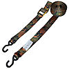 CAMO 2 inch Cam Buckle Strap with Vinyl Coated S-Hooks