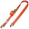 2 inch Cam Buckle Strap with Wire Hooks Orange