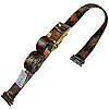 2 inch Heavy Duty Ratchet Strap with E Track Fittings Camo