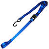 1 inch Blue Cam Buckle Strap with S Hook and Loop