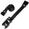2 inch Black Webbing Custom Ratchet Strap with Flat Hooks