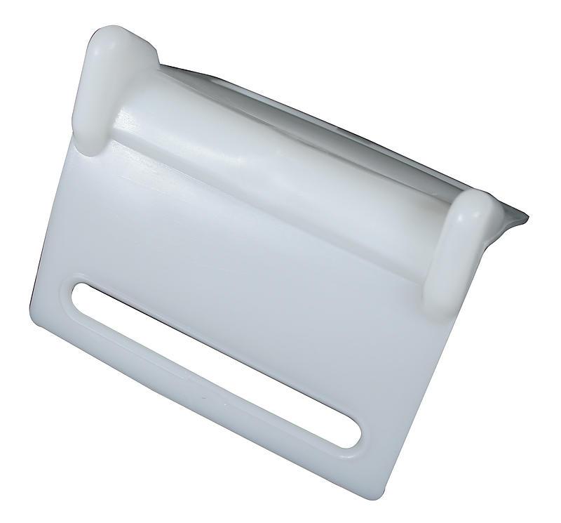 "4"" White Plastic Corner Protector"