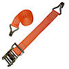 Orange 2 inch Ratchet Strap with Wire Hooks 5,000 lbs | RatchetStrapsUSA