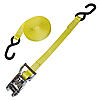 "1"" Heavy Duty Stainless Ratchet Strap w/S Hooks"