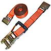 "2"" x 30' Custom USA Ratchet Strap with Flat Hooks"