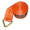 "4"" x 30' Orange Winch Strap with Delta Ring 