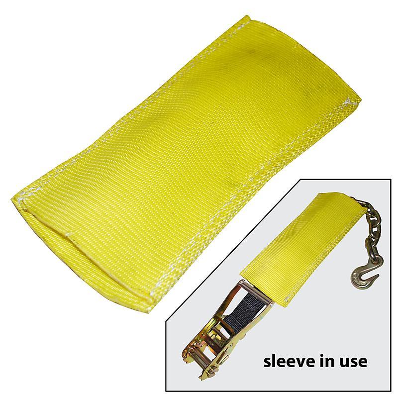 Heavy Duty Nylon Protector Sleeve | Ratchet Strap Protector | RatchetStrapsUSA