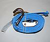 "2"" x 20' Cambuckle Strap with 5,000# Wire Hooks - BLUE"