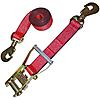 "2"" Custom USA Ratchet Strap with Swivel Snap Hooks"