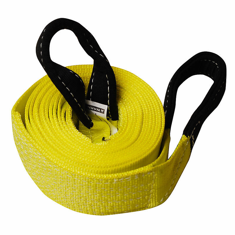 "3"" x 20' 1-ply Recovery Strap with 8"" Cordura Eyes"