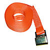 "2"" x 30' Winch Strap with Flat Hook - ORANGE"