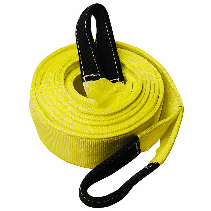 "4"" x 20' 2-ply Recovery Strap with 8"" Cordura Eyes"