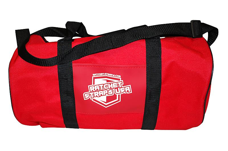 Ratchet Straps USA Logo Bag