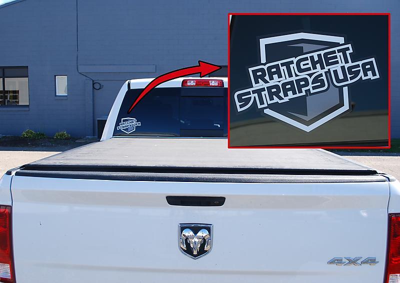 ratchet straps usa logo 6quot decal ratchetstrapscom