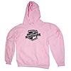 Ratchet Straps USA Logo Pink Colored Hoodie in Adult Size