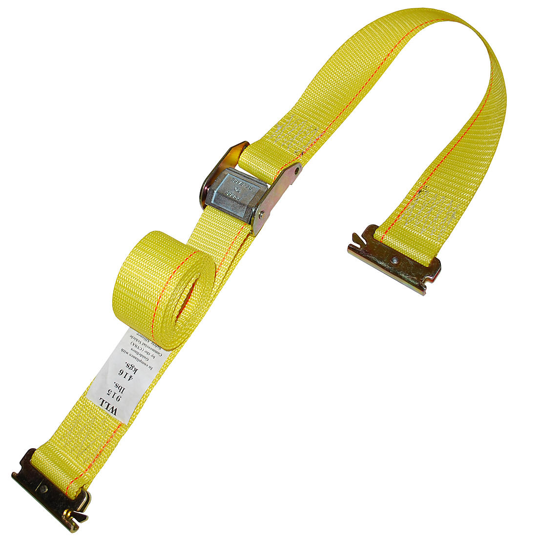 2 inch Cam Buckle Straps with E Track Fittings